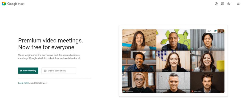 Cara menggunakan Google Meet