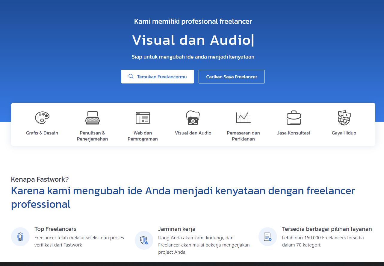 fastwork situs freelance indonesia