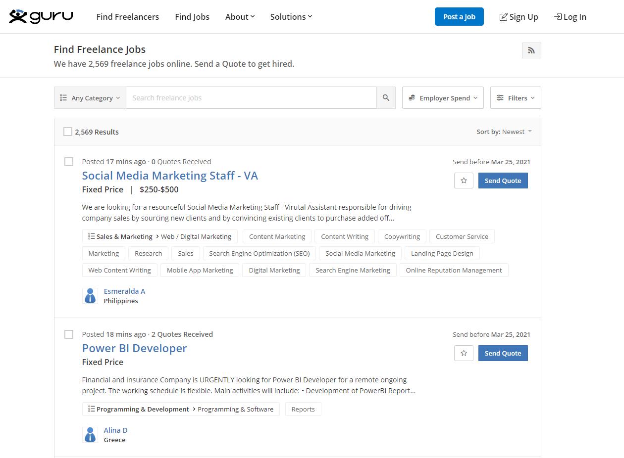 guru situs freelance indonesia
