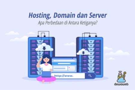 Perbedaan Hosting, Server, dan Domain