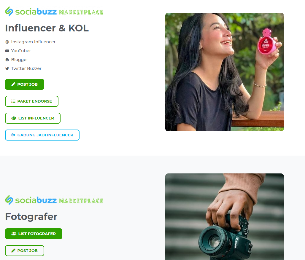 sociabuzz situs freelance indonesia