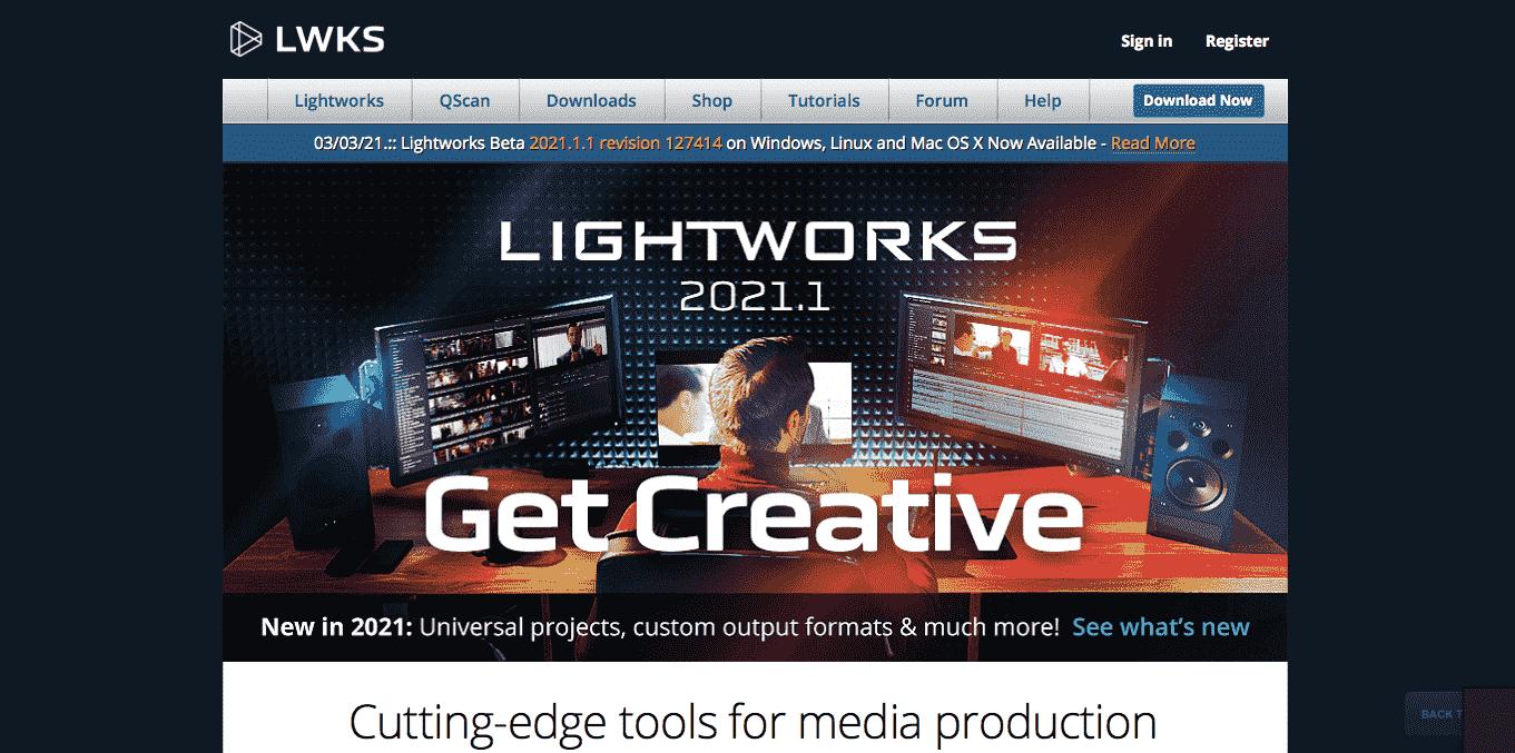 Aplikasi Edit Video Lightworks