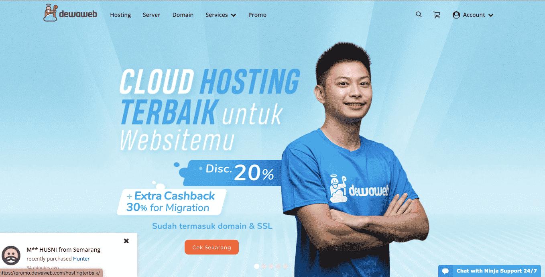 web design full page header
