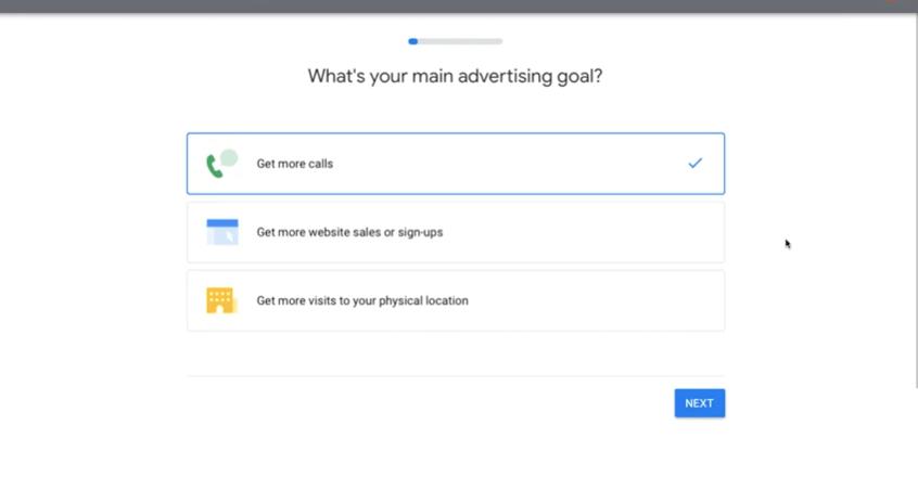 Cara buat iklan di google ads menentukan goal