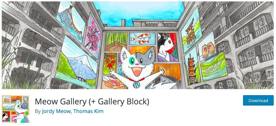 meow gallery plugin