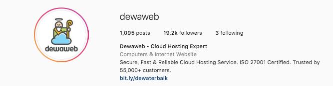 Cara jualan di Instagram-optimalkan profil dan bio IG