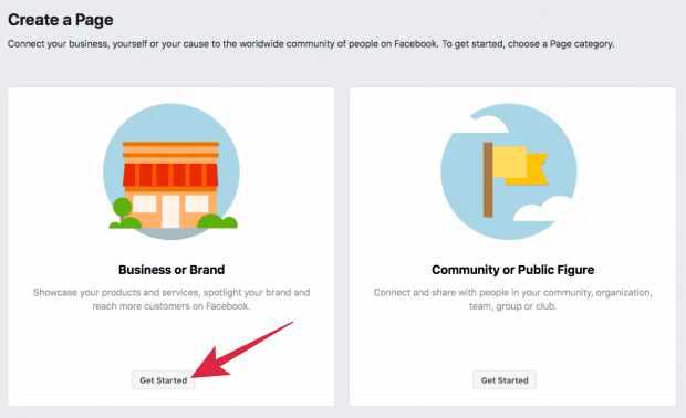 Cara jualan di Facebook-Daftar FB Page