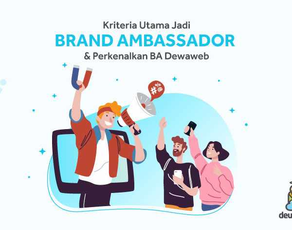 kriteria utama brand ambassador dewaweb kevin anggara