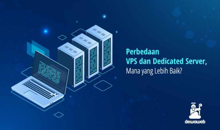 perbedaan VPS dan dedicated server