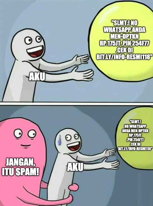 meme apa arti spam