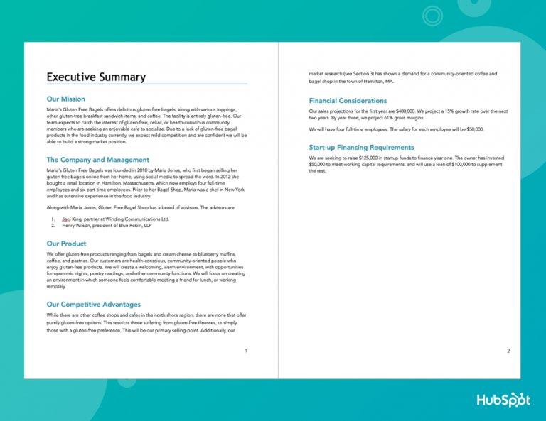 cara membuat bisnis plan - executive summary