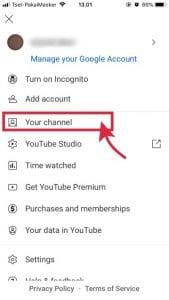 klik your channel