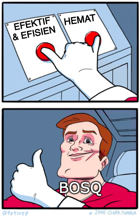 ilustrasi meme Both Buttons Pressed